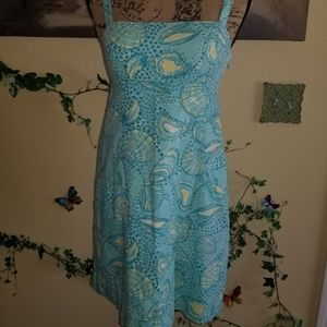 Lily Pulitzer Blue Beach Dress